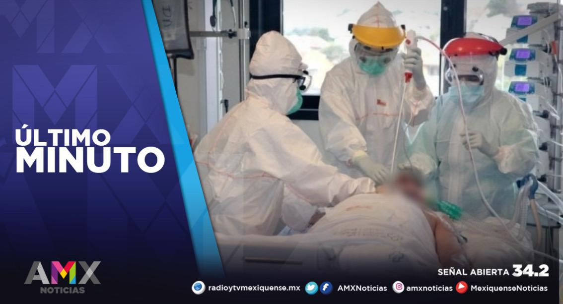 MÁS DE 3 MIL MEXIQUENSES SE ENCUENTRAN HOSPITALIZADOS POR COVID-19