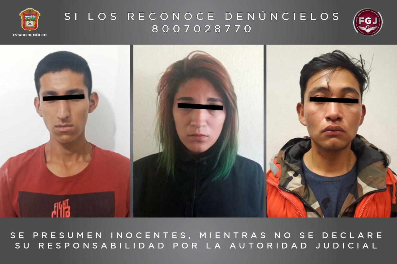 APREHENDEN A TRES PERSONAS POR EL HOMICIDIO DE UNA MUJER EN SAN ANTONIO LA ISLA