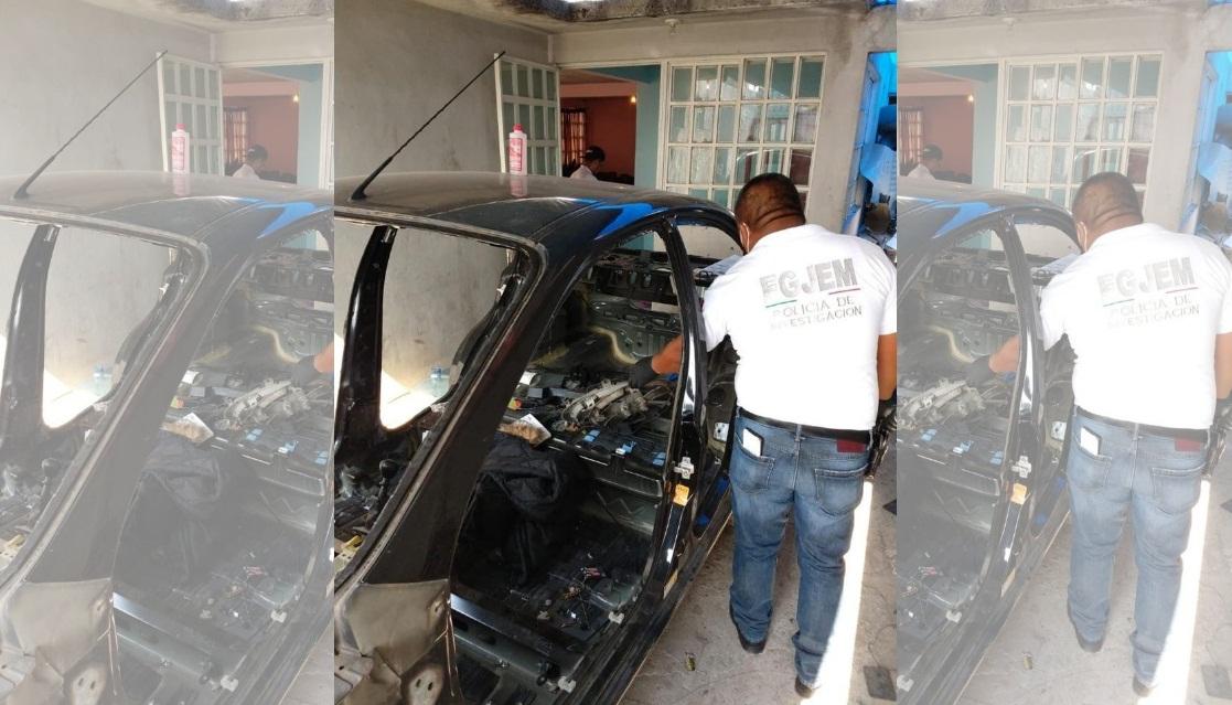 RECUPERAN DOS VEHÍCULOS CON REPORTE DE ROBO DURANTE CATEO EN INMUEBLE