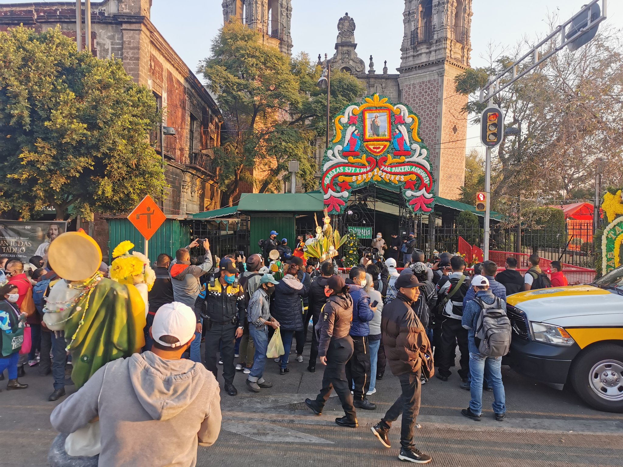 ¡OJO! IGLESIA DE SAN HIPÓLITO ESTARÁ CERRADA ESTE 28 DE NOVIEMBRE