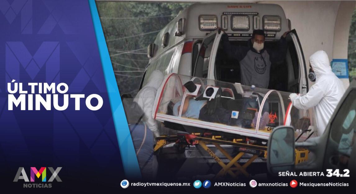 MÉXICO REGISTRA 8 MIL 107 CONTAGIOS DE COVID-19 EN 24 HORAS