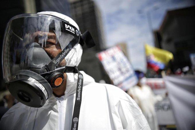 COLOMBIA SE ACERCA A LOS 1.3 MILLONES DE CONTAGIOS POR COVID-19