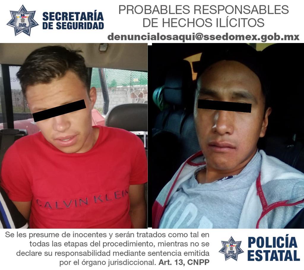 POR ROBO DE VEHÍCULO CON VIOLENCIA CAPTURAN A TRES PROBABLES RESPONSABLES
