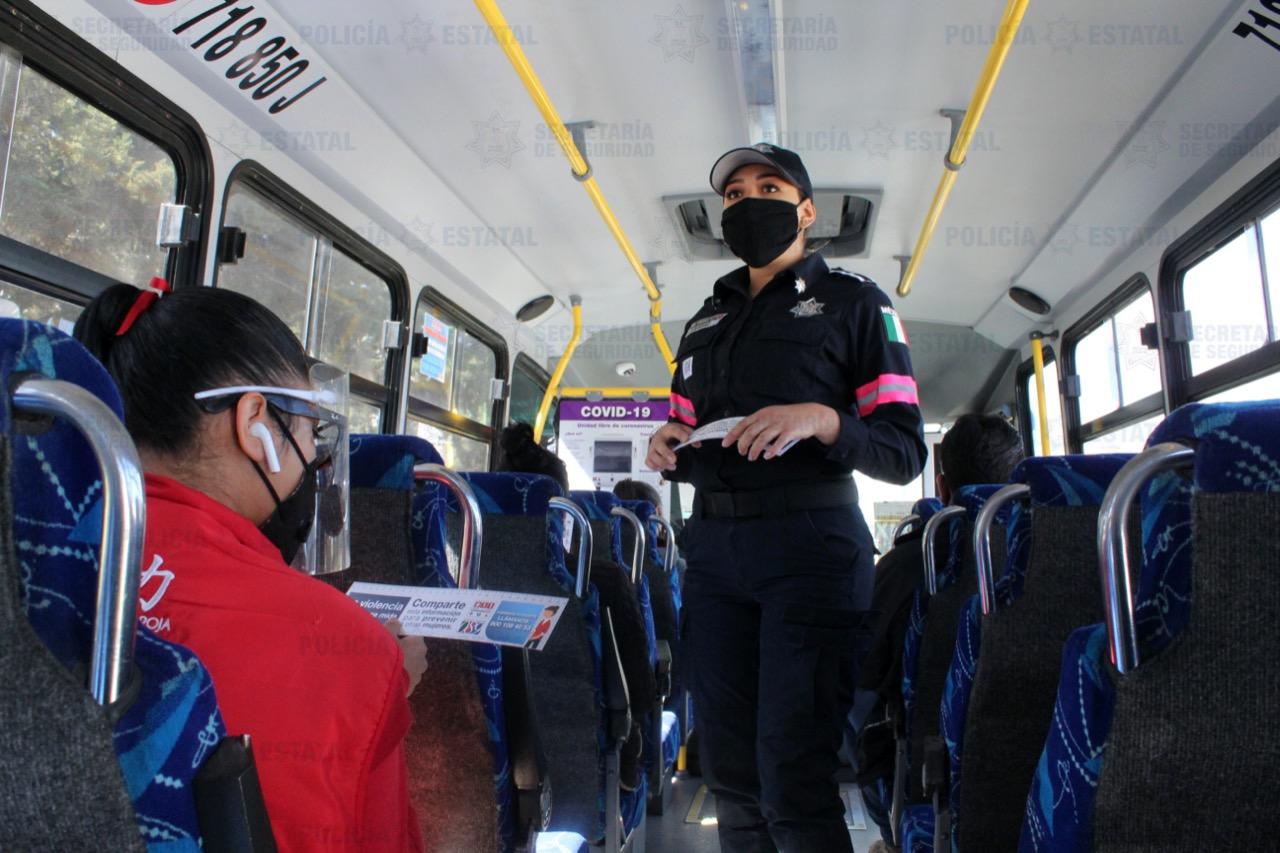 POLICÍA DE GÉNERO REFUERZA ACCIONES PARA ERRADICAR LA VIOLENCIA EN CONTRA DE GRUPOS VULNERABLES