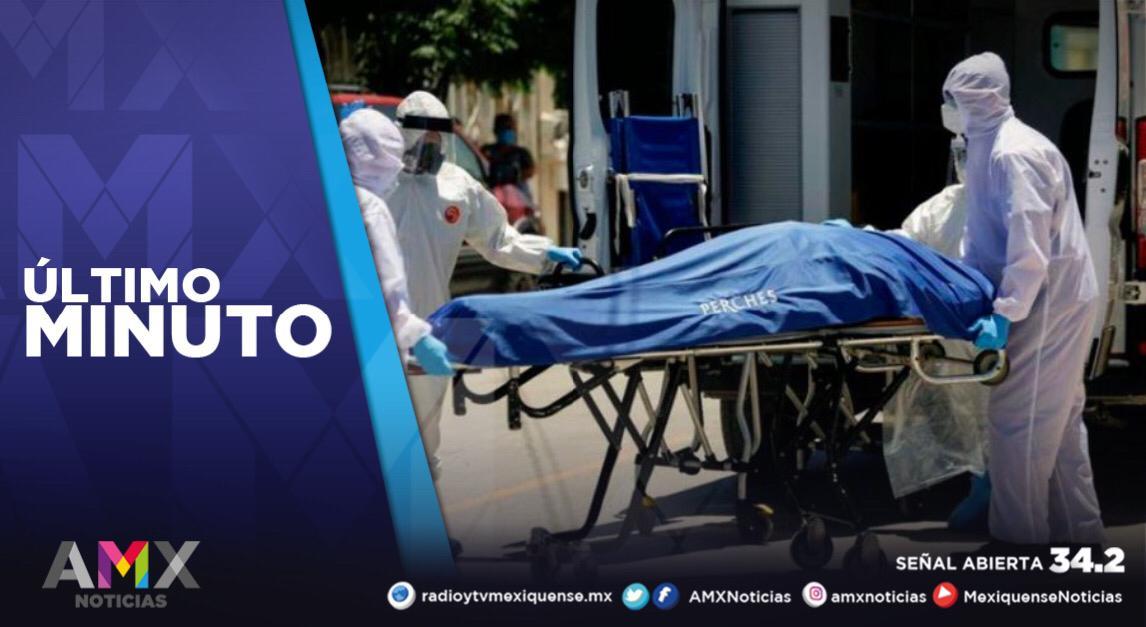 MÉXICO SUMA 107 MIL 565 MUERTES POR COVID-19 Y UN MILLÓN 133 MIL 613 CONTAGIOS