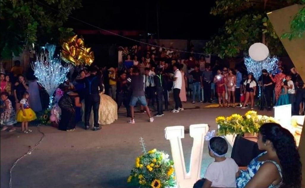 VIDEO: SUSPENDEN FIESTA DE XV AÑOS CON MÁS DE 500 INVITADOS