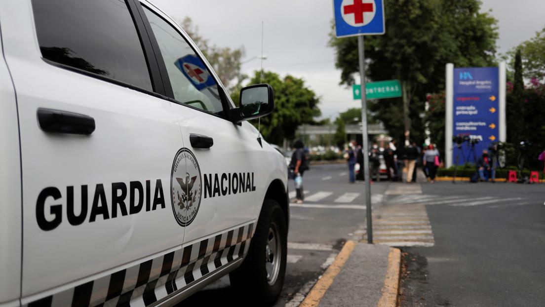 GUARDIA NACIONAL ATROPELLA A UNA MUJER DE LA TERCERA EDAD EN NEZAHUALCÓYOTL