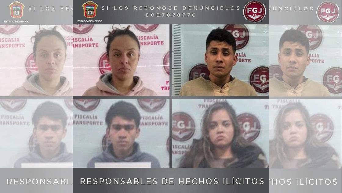 CUATRO PERSONAS SON SENTENCIADAS POR ROBOS CON VIOLENCIA A TRANSPORTE PÚBLICO