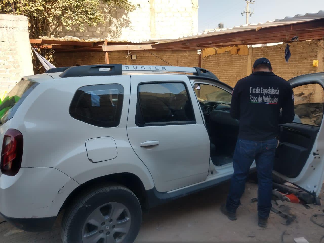 LOCALIZAN CINCO VEHÍCULOS CON REPORTE DE ROBO EN ECATEPEC