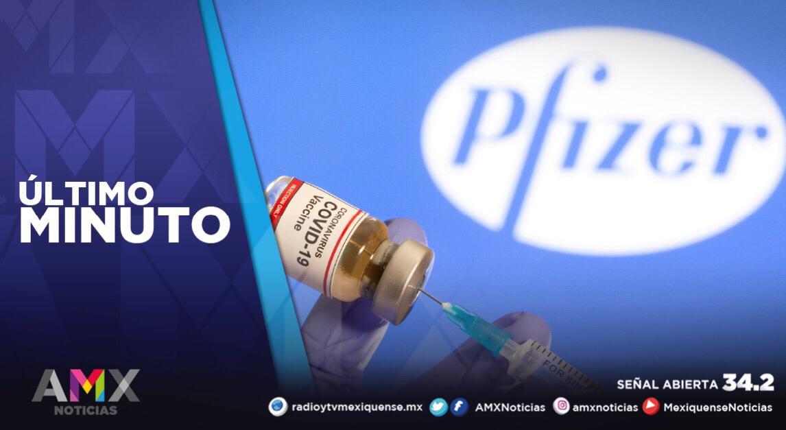 MÉXICO APRUEBA USO DE EMERGENCIA DE VACUNA CONTRA COVID-19 DE PFIZER-BIONTECH