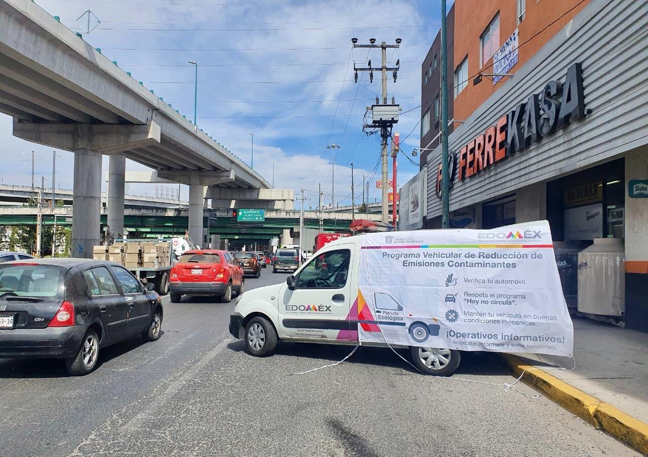 REALIZAN OPERATIVOS PREVENTIVOS PARA DISMINUIR CONTAMINANTES DE AUTOMÓVILES EN EDOMÉX