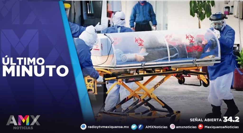 MÉXICO LLEGA A 115, 099 MUERTES POR COVID-19; HAY 1, 267,202 CONTAGIOS