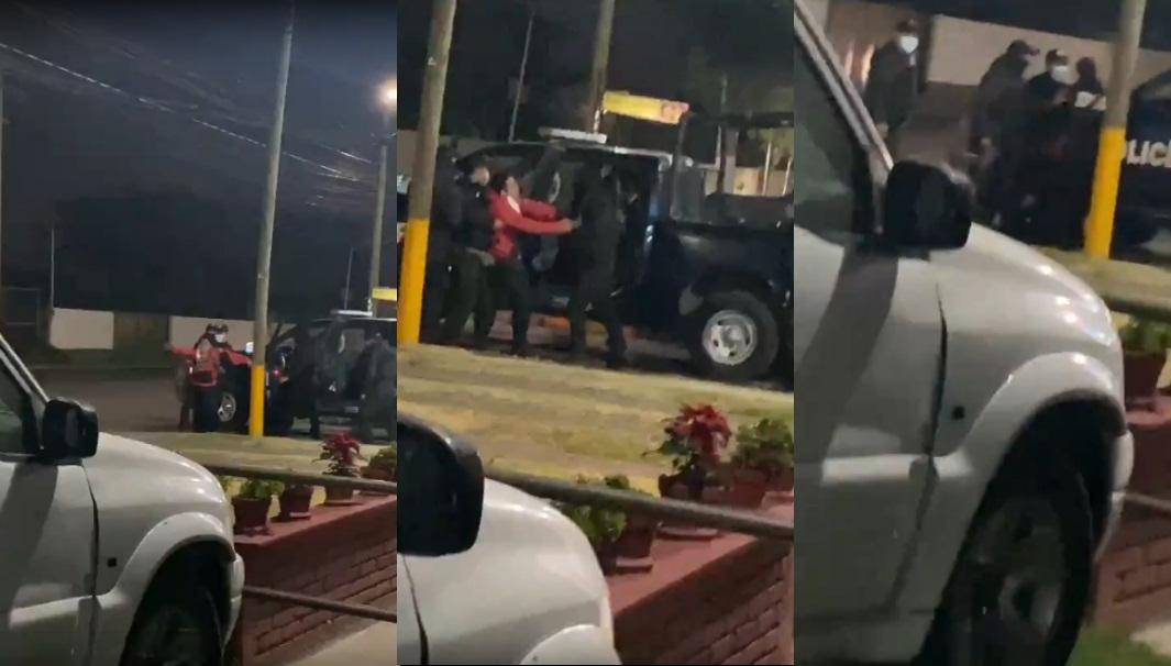 TRAS SUPUESTO ABUSO DE AUTORIDAD, LA SECRETARÍA DE SEGURIDAD DESMIENTE USO DE ARMAS DE ELECTROCHOQUES