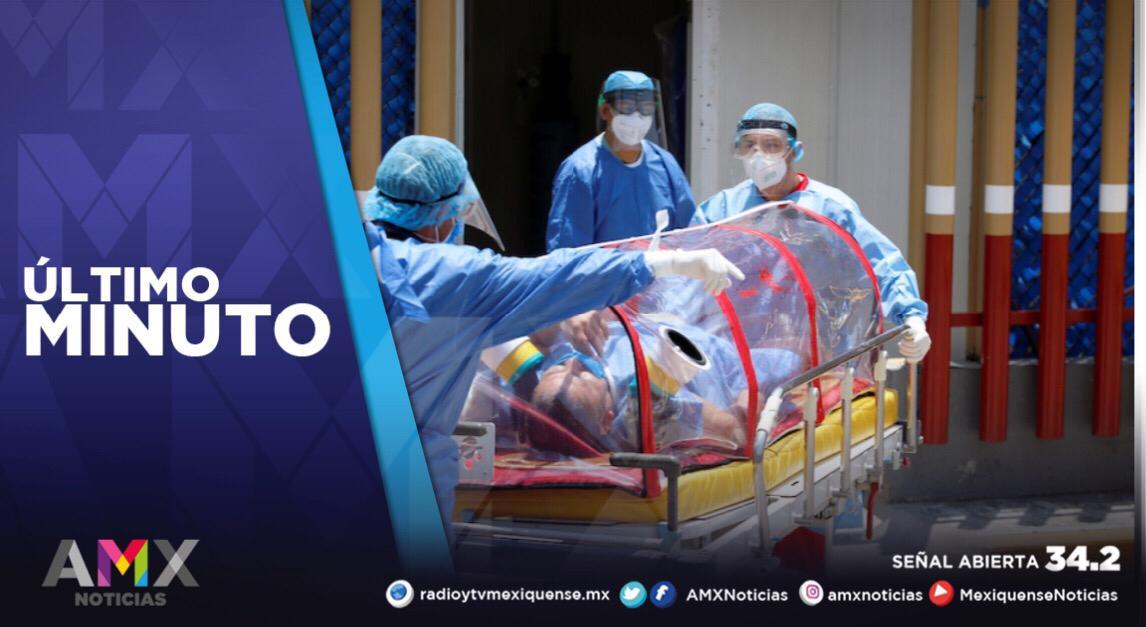 SALUD EDOMÉX ADVIERTE SOBRE AUMENTO EN HOSPITALIZACIONES POR COVID-19; SUMAN 117 MIL 605 CONTAGIOS