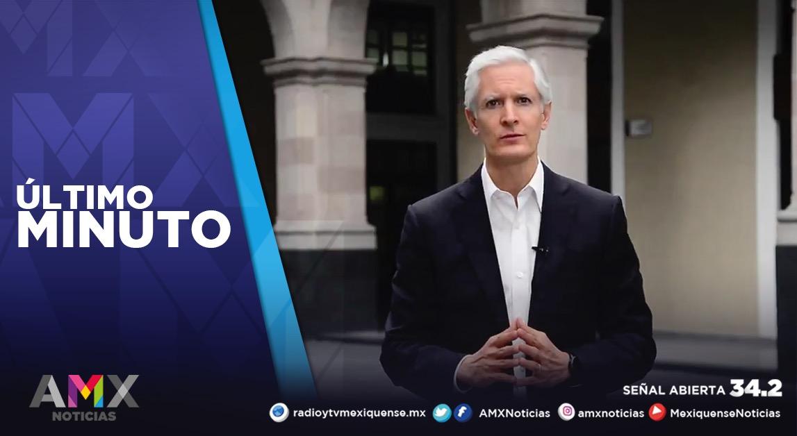 A PARTIR DE MAÑANA EL EDOMÉX PASA A SEMÁFORO ROJO: ALFREDO DEL MAZO
