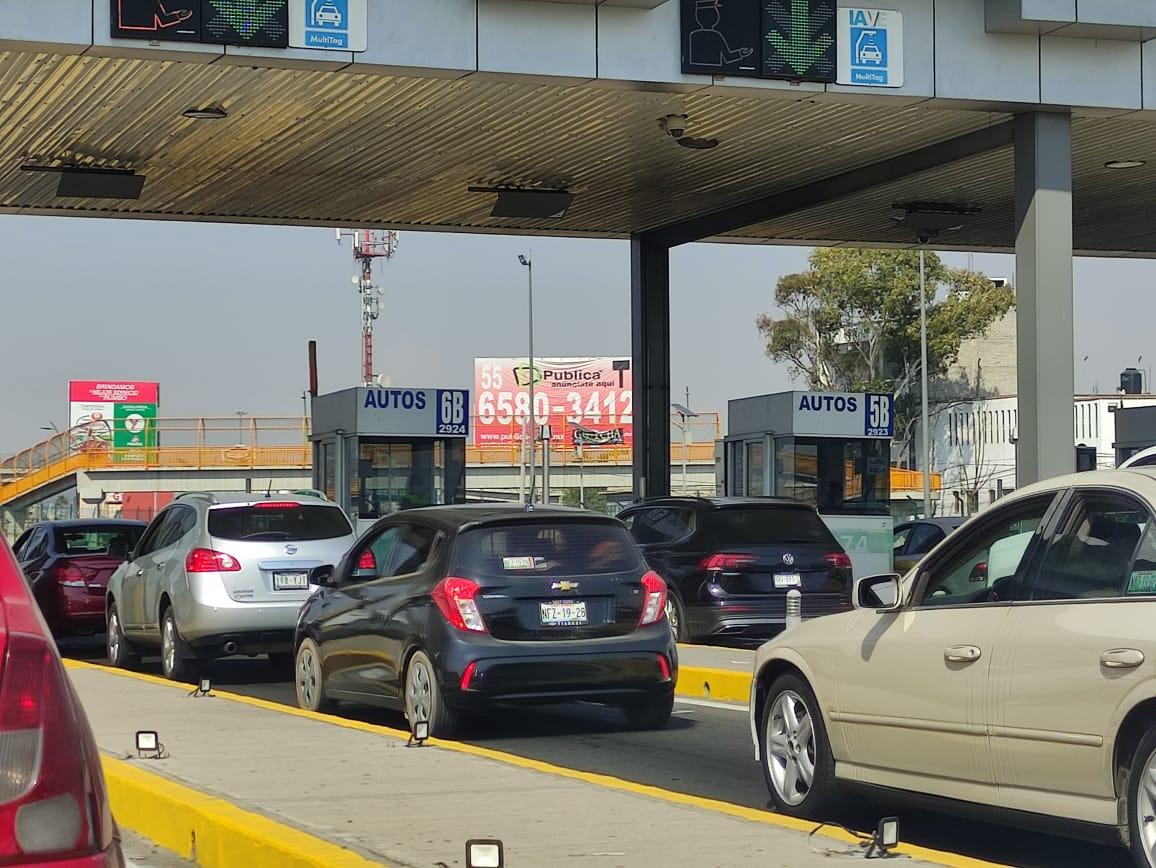CASETAS DEL VALLE DE MÉXICO REGISTRAN AUMENTO EN PEAJE