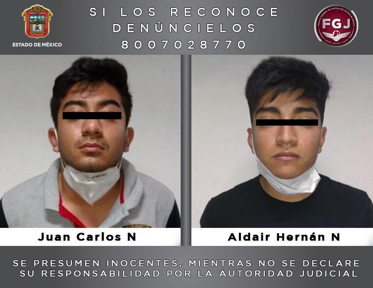 APREHENDEN A DOS SUJETOS POR EL HOMICIDIO DE UN ADOLESCENTE EN TULTITLÁN