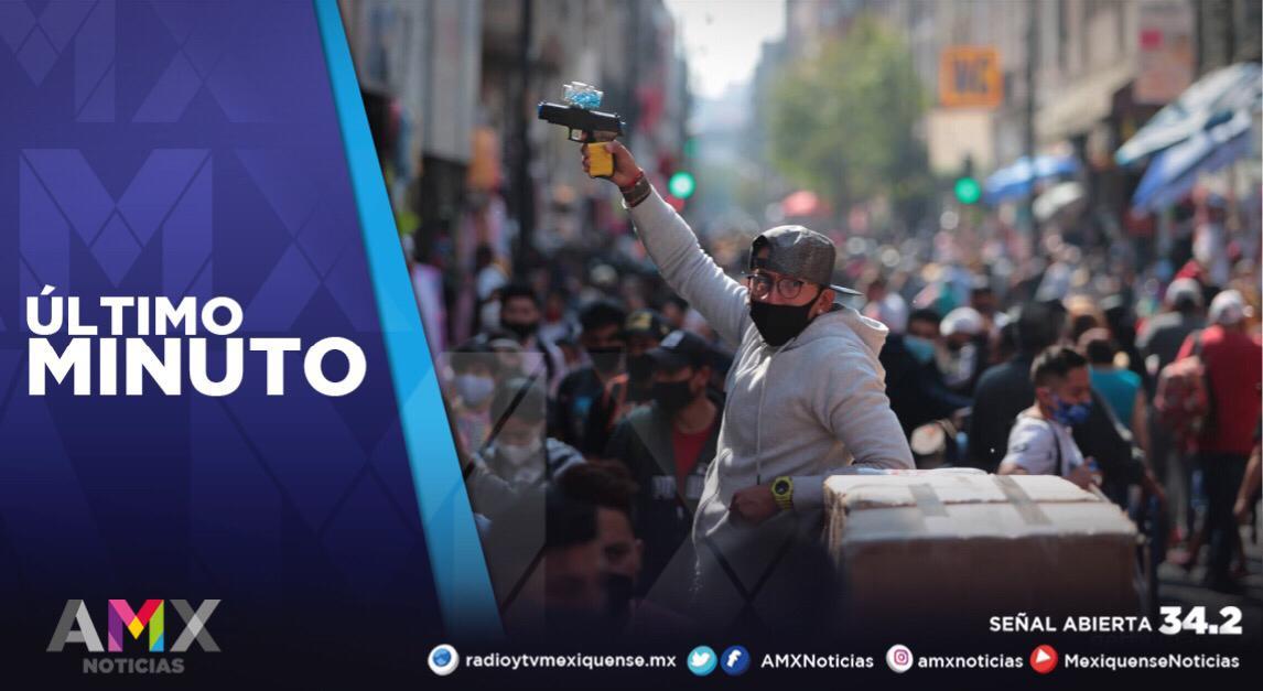 MÉXICO SUMA UN MILLÓN 325 MIL 915 CONTAGIOS DE COVID-19