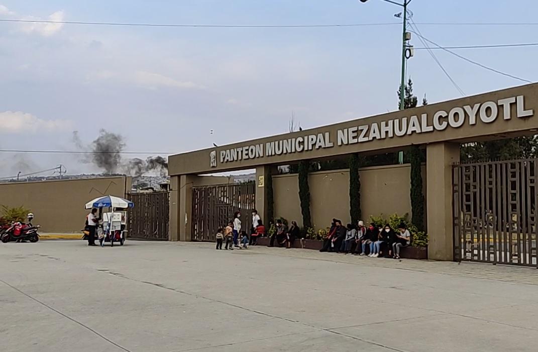 VECINOS DE NEZAHUALCÓYOTL DENUNCIAN CREMATORIOS