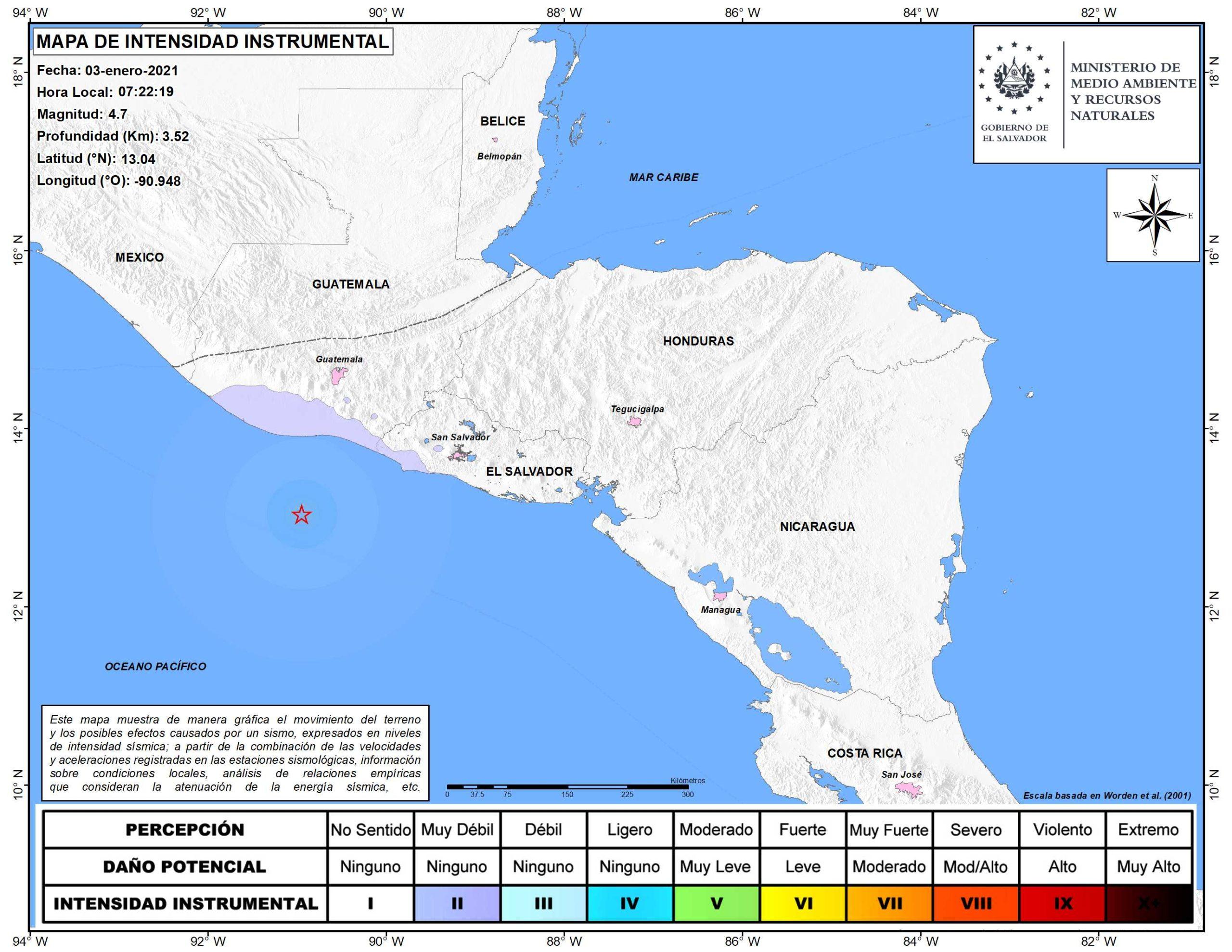 SISMO SACUDIÓ EL CENTRO DE GUATEMALA