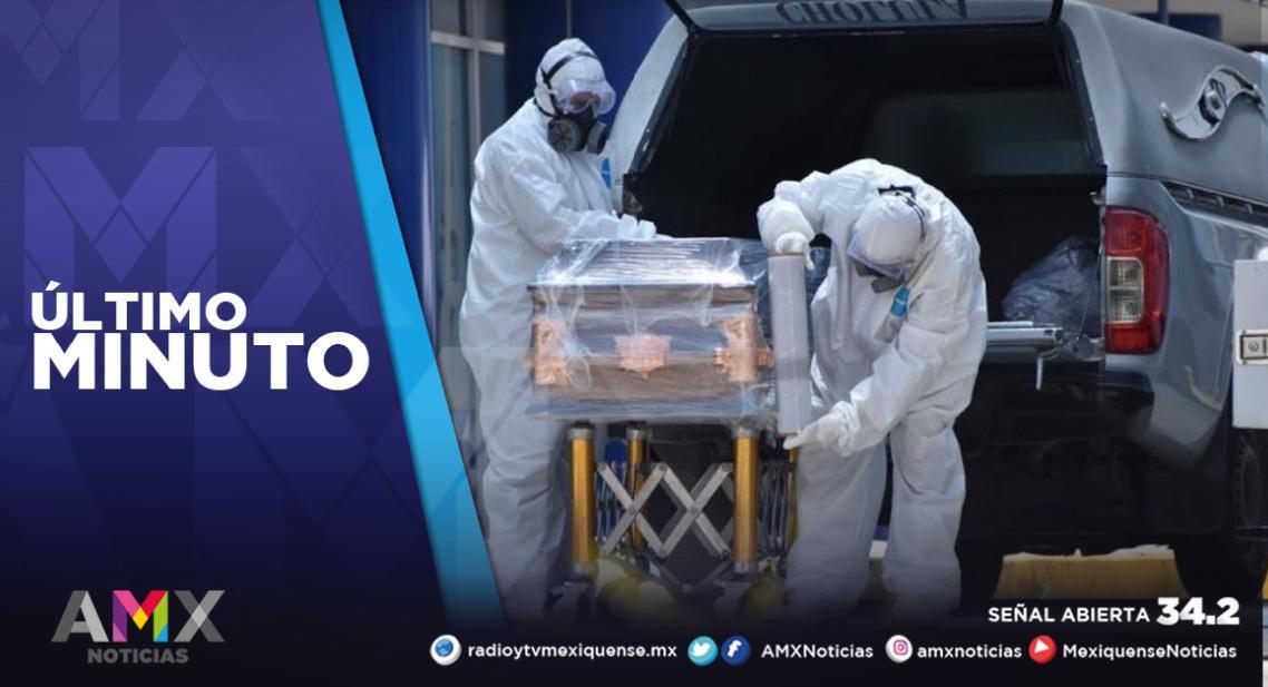 MÉXICO SUPERA LAS 132 MIL MUERTES POR COVID-19; YA SON MÁS DE 1.5 MILLONES DE CONTAGIOS