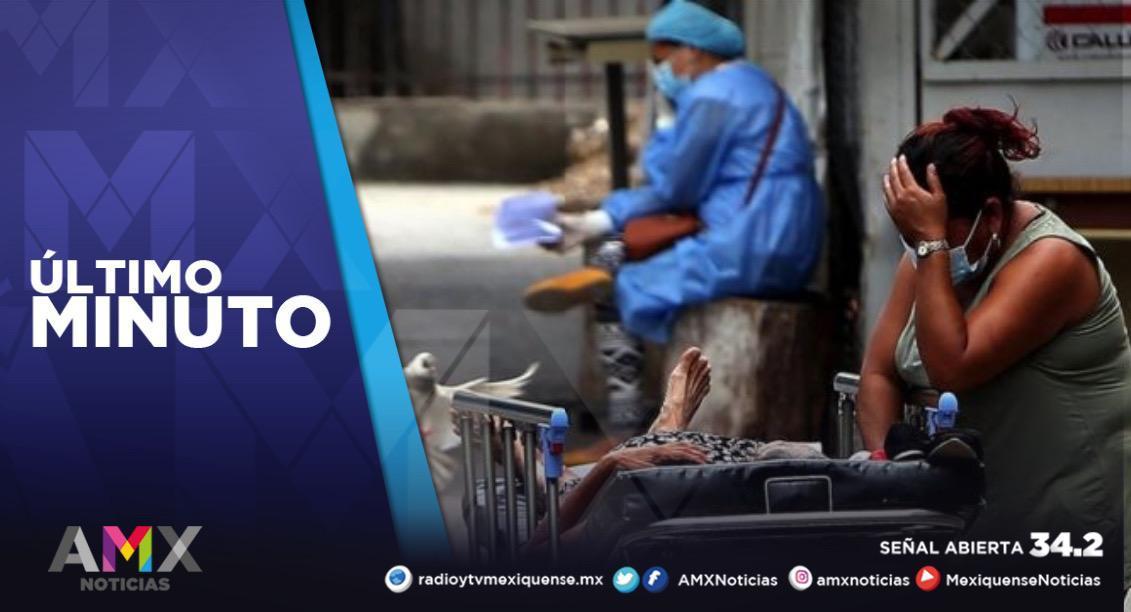 MÉXICO REGISTRA 93 MIL 672 CASOS ACTIVOS DE COVID-19
