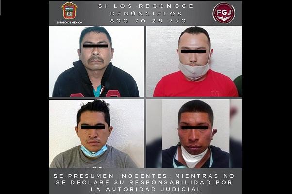 PROCESAN A CUATRO SUJETOS INVESTIGADOS POR EL DELITO DE HOMICIDIO