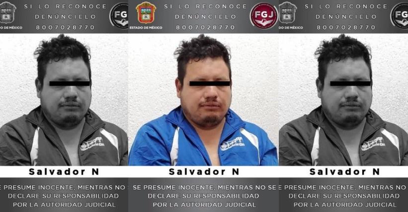 PROCESAN A UN SUJETO INVESTIGADO POR EL ASESINATO DE SU ESPOSA EN MALINALCO