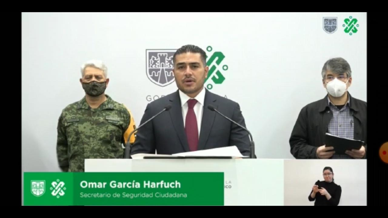 ES PRIORIDAD COMBATIR CINCO DELITOS EN LA CDMX: GARCÍA HARFUCH