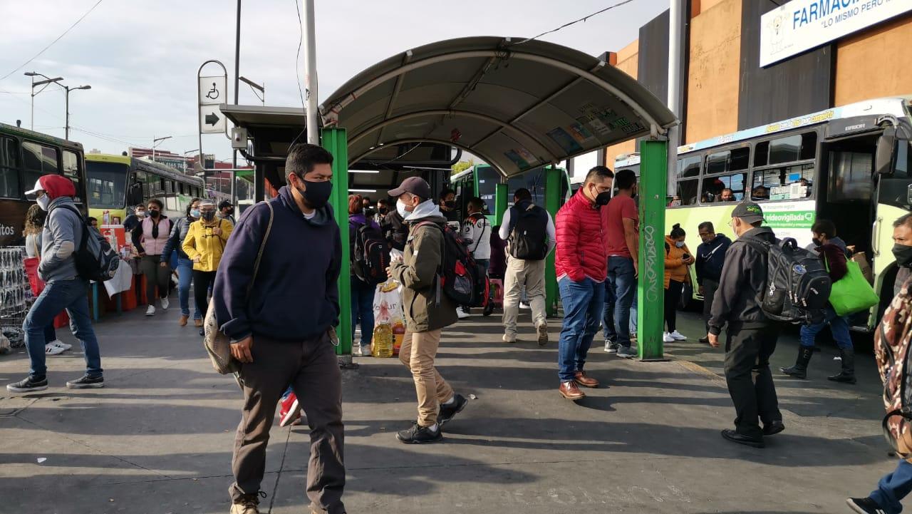 GALERÍA: AUMENTA AL TRIPLE NÚMERO DE PASAJEROS EN METRO TACUBAYA