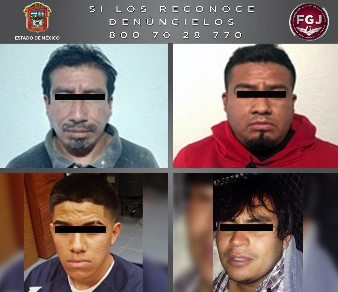 VINCULAN A PROCESO A CUATRO PROBABLES HOMICIDAS EN EDOMÉX