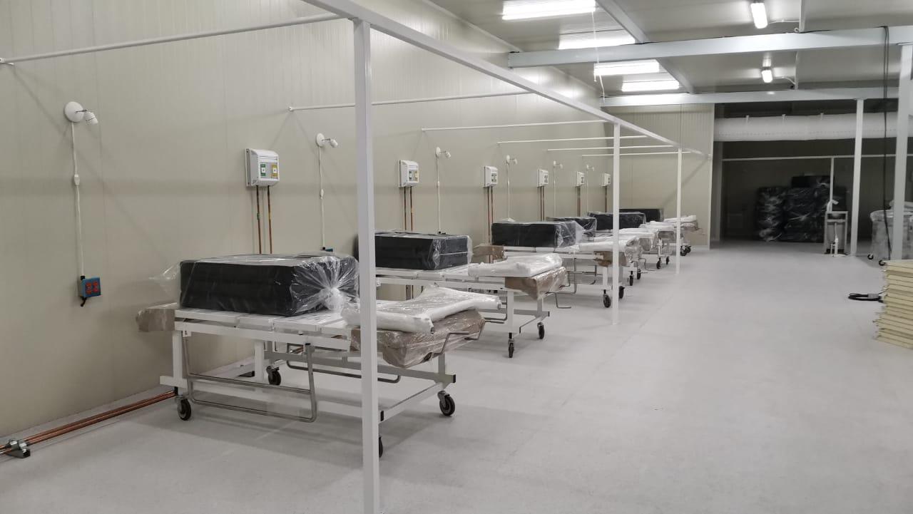 PREPARAN MÓDULO HOSPITALARIO TEMPORAL EN NAUCALPAN