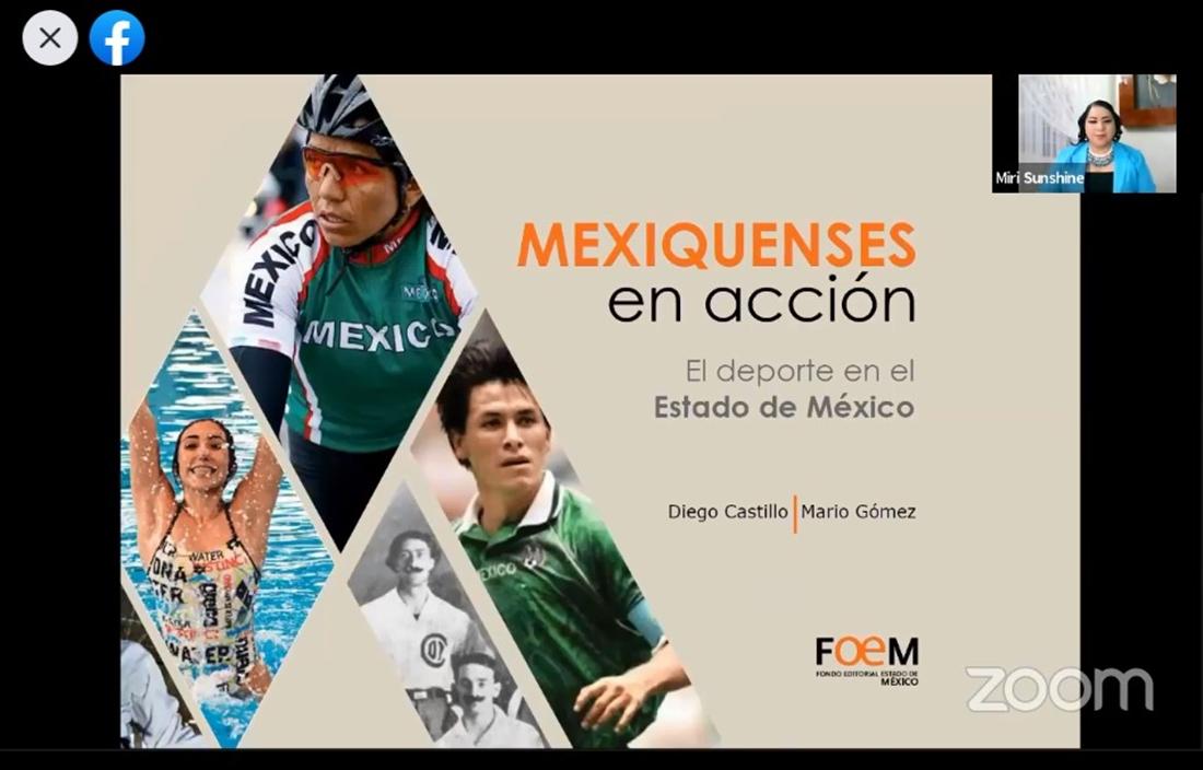 """LIBROS A FONDO PRESENTA EL LIBRO """"MEXIQUENSES EN ACCIÓN. EL DEPORTE EN EL ESTADO DE MÉXICO"""""""