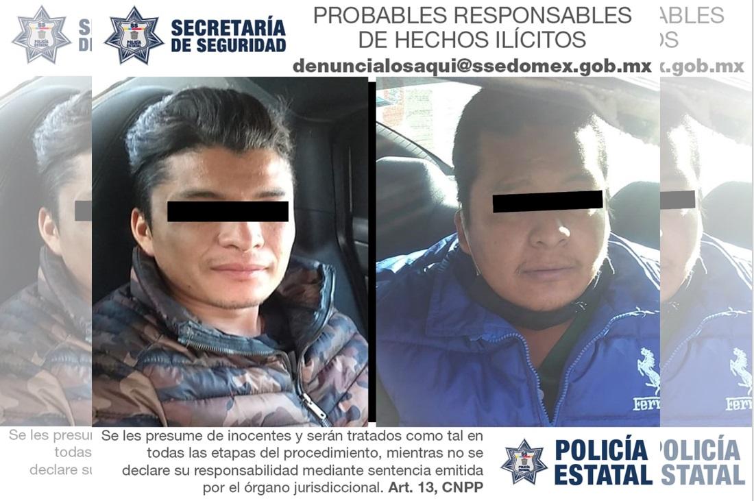 RECUPERAN DOS VEHÍCULOS CON REPORTE DE ROBO; DETIENEN A LOS CONDUCTORES