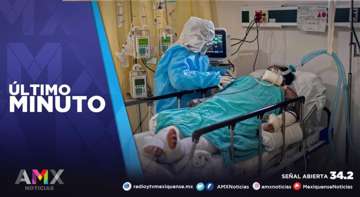 HOSPITALES MEXIQUENSES ATIENDEN A 3 MIL 370 PERSONAS CON COVID-19