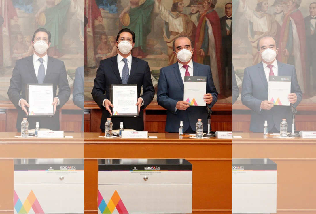 EL EDOMÉX RECONOCE A LA LEGISLATURA LOCAL POR APROBACIÓN DEL PAQUETE FISCAL 2021 QUE PRIORIZA AL SECTOR SALUD