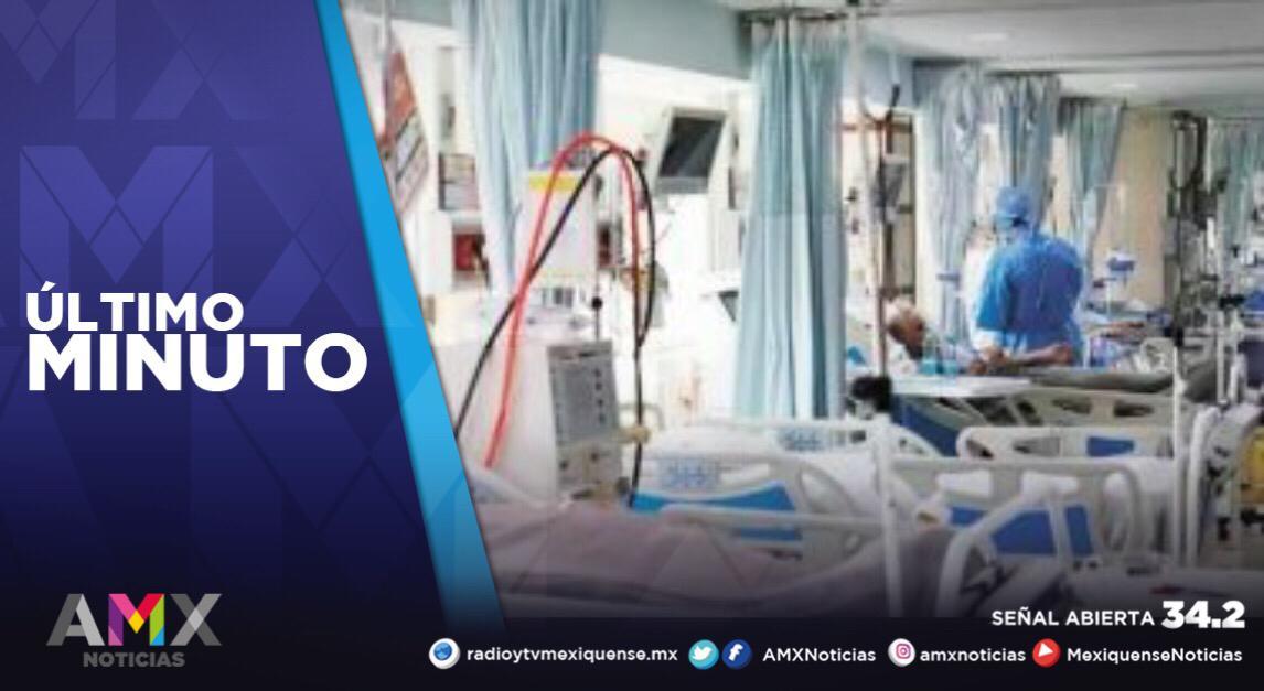 EDOMÉX REPORTA 3 MIL 405 PERSONAS HOSPITALIZADAS POR COVID-19