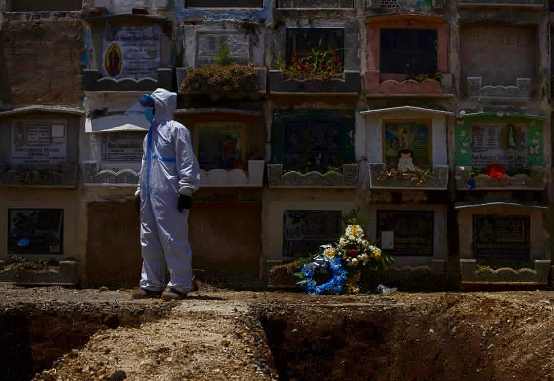 ASÍ LLEGA AMÉRICA AL MILLÓN DE MUERTES POR COVID-19