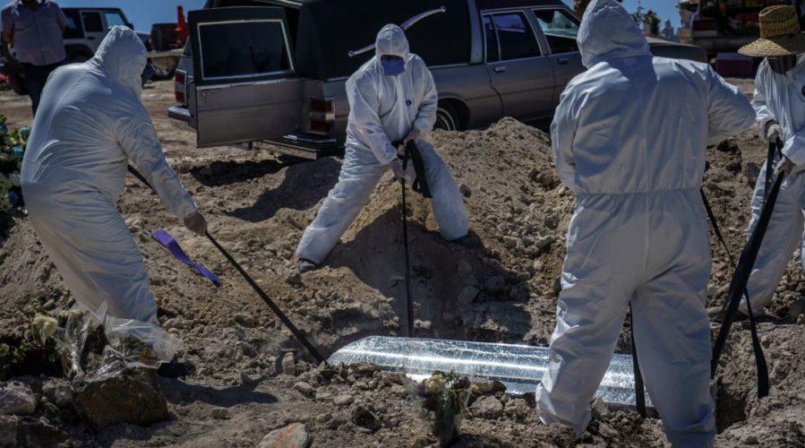 EL CORONAVIRUS SE CONVIERTE EN LA SEGUNDA CAUSA DE MUERTE EN MÉXICO