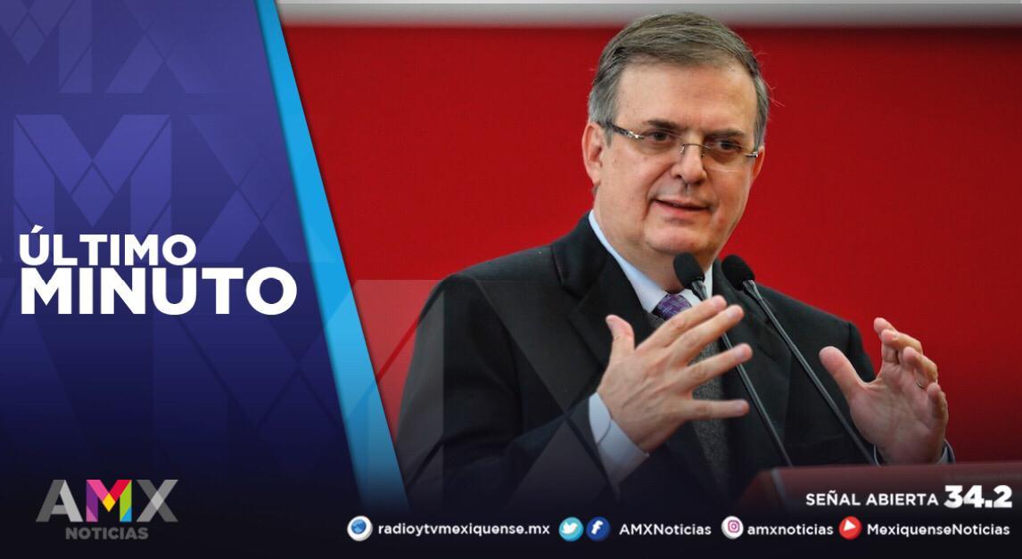 EBRARD DA NEGATIVO A SEGUNDA PRUEBA DE COVID-19