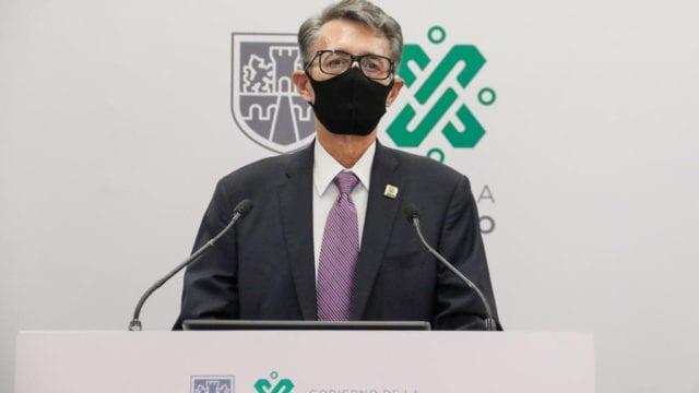 POR SEGUNDA VEZ EL SECRETARIO DE GOBIERNO DE LA CDMX DA POSITIVO A COVID-19