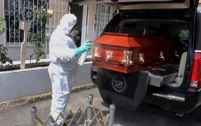 MÉXICO OCUPA EL TERCER LUGAR EN MUERTES POR COVID-19  A NIVEL MUNDIAL