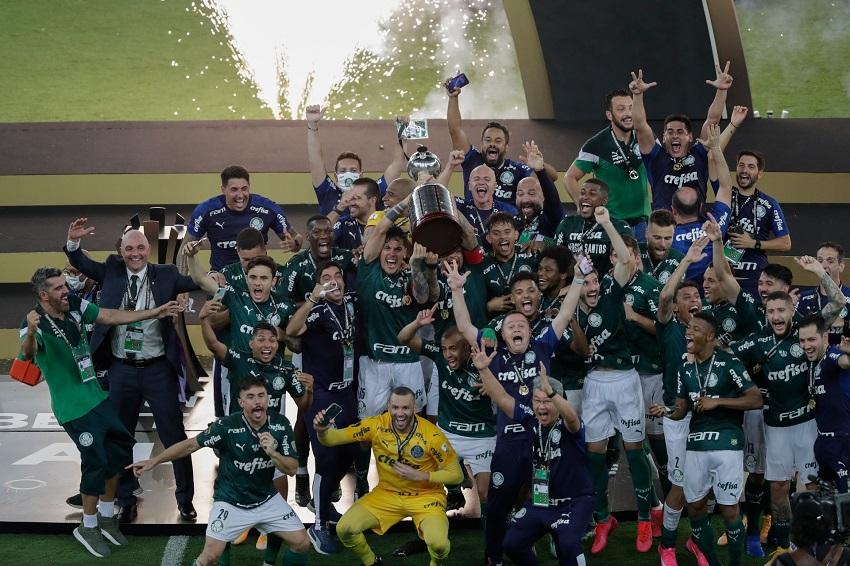 PALMEIRAS VENCE 1-0 A SANTOS Y CONQUISTA SU SEGUNDA LIBERTADORES