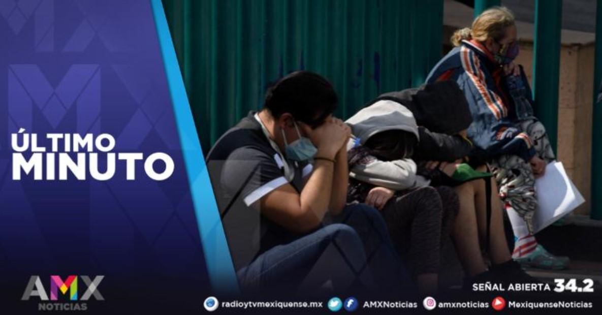 MÉXICO REGISTRA 92 MIL 760 CASOS ACTIVOS DE COVID-19