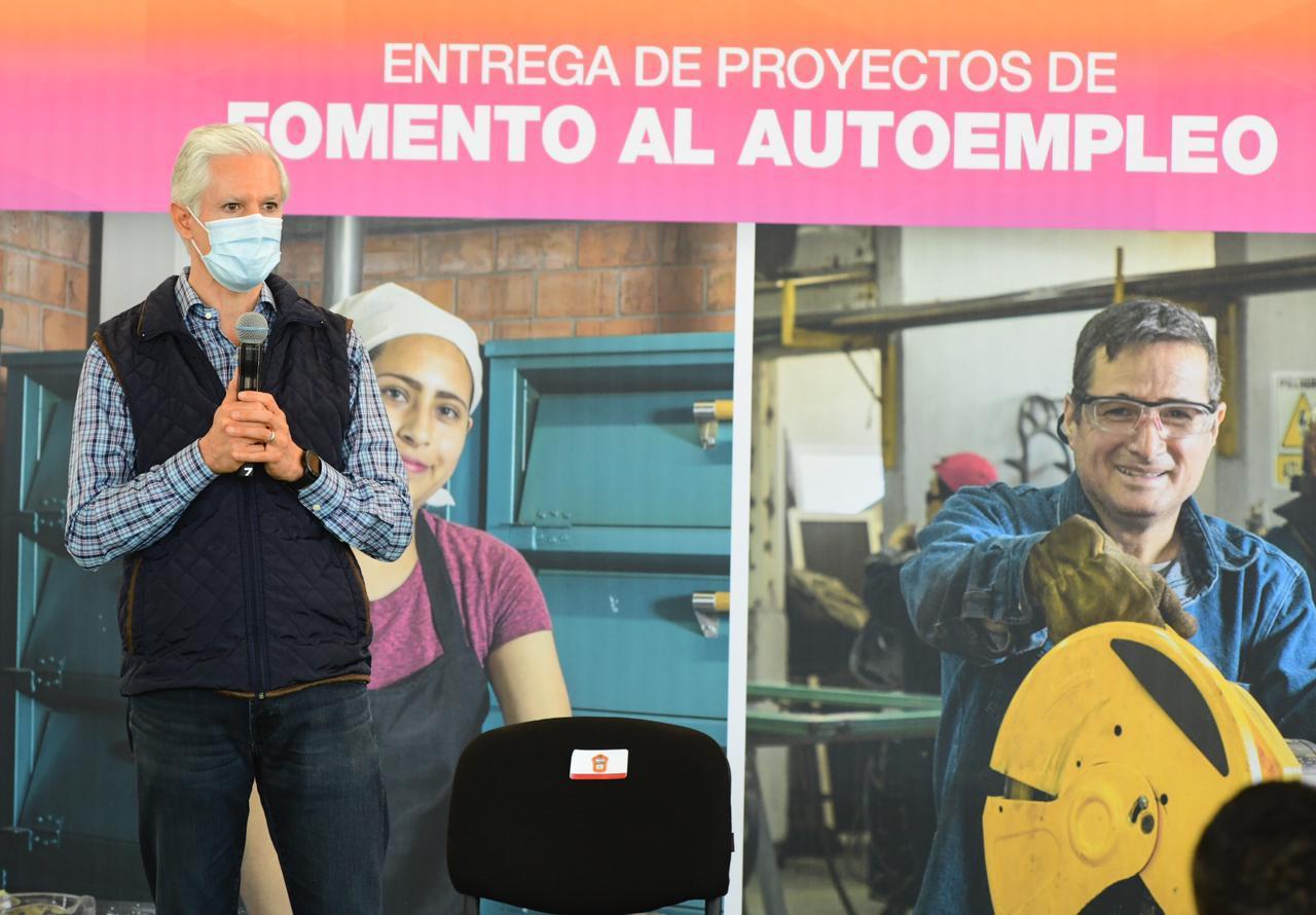 ALFREDO DEL MAZO PONE EN MARCHA PROGRAMA PROYECTOS DE FOMENTO AL AUTOEMPLEO