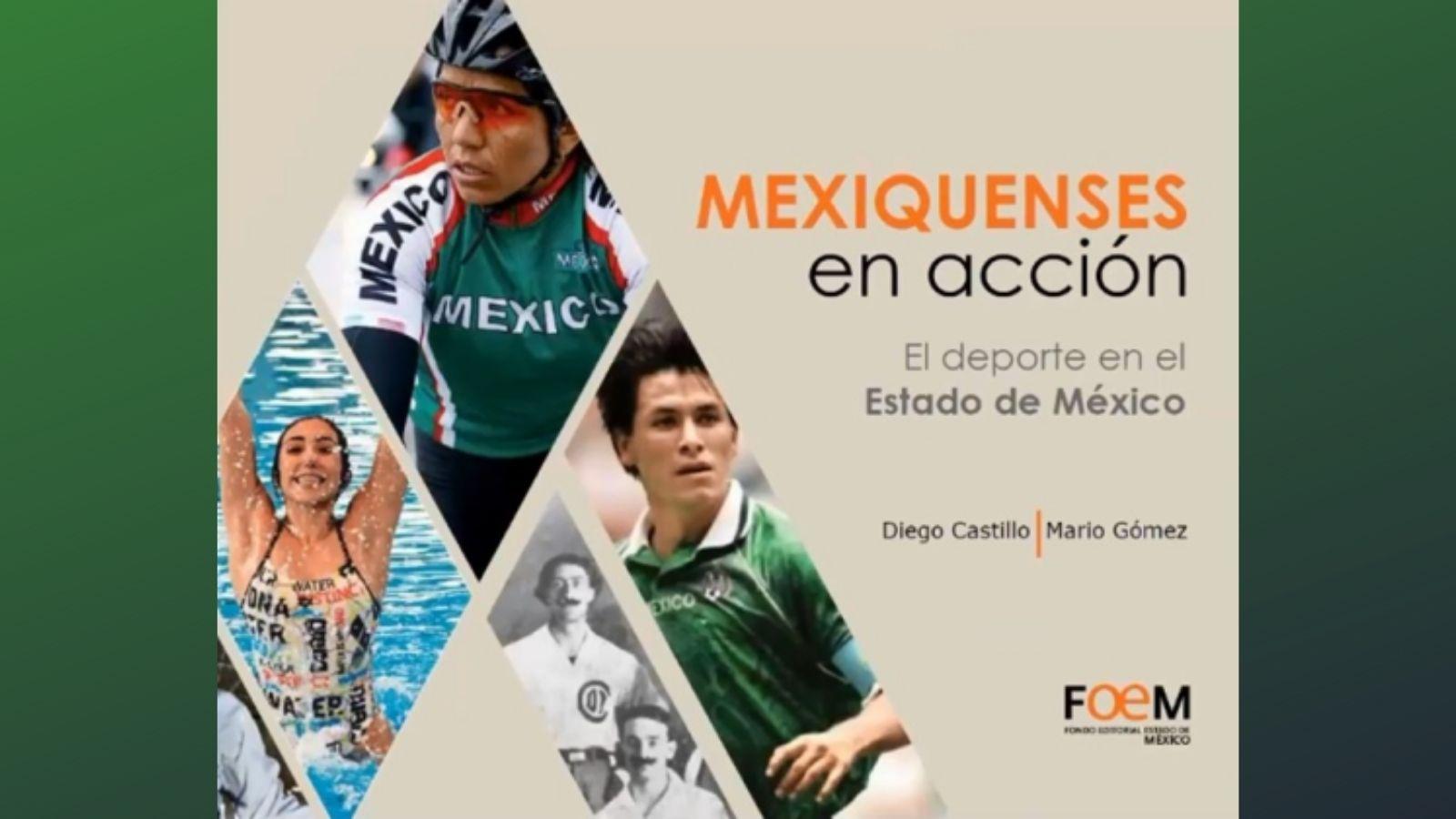 PLASMAN EN LIBRO HAZAÑAS DE LOS DEPORTISTAS MEXIQUENSES