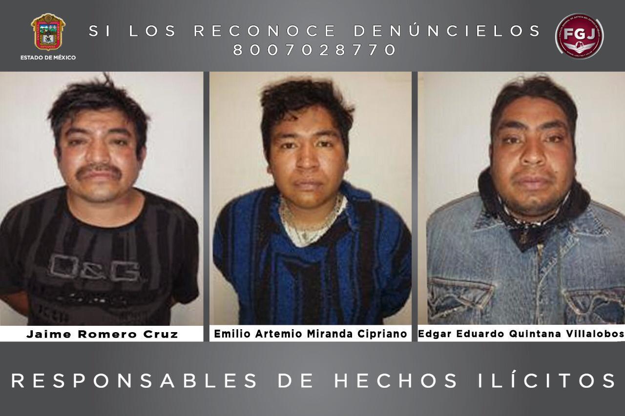 CONDENAN A 47 AÑOS DE PRISIÓN A TRES SUJETOS POR EL DELITO DE HOMICIDIO