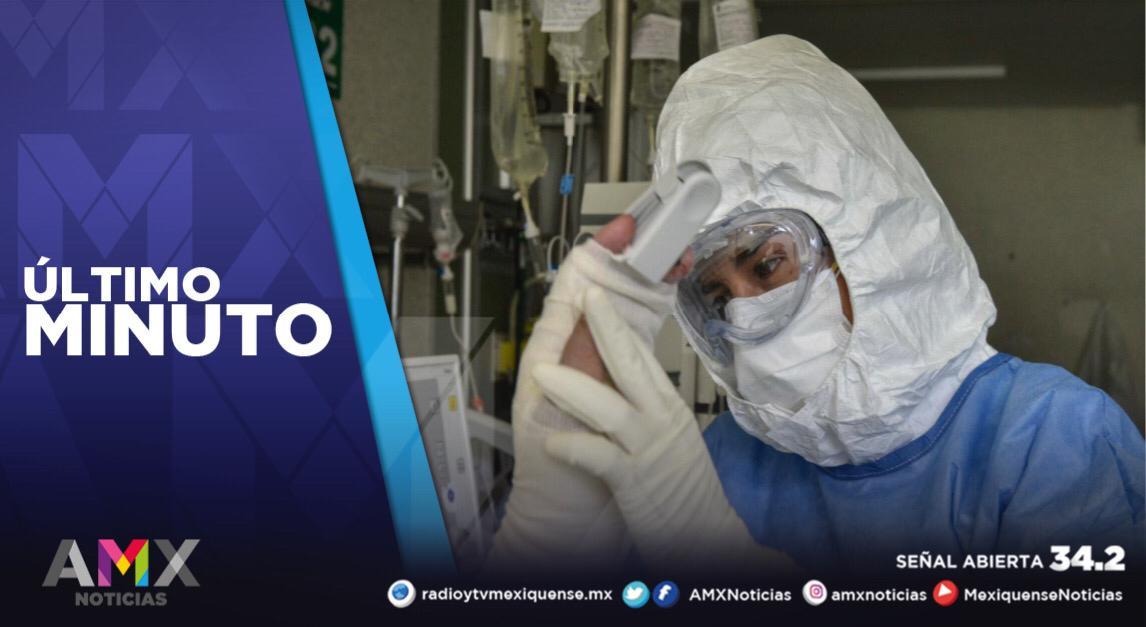 MÉXICO REGISTRA 81 MIL 428 CASOS ACTIVOS DE COVID-19