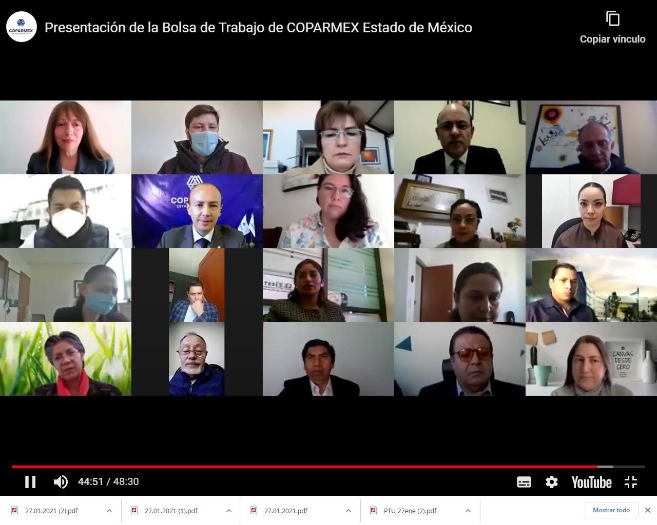 OFRECEN OFICINAS REGIONALES VACANTES DE EMPLEOS PARA CADA REGIÓN DEL EDOMÉX