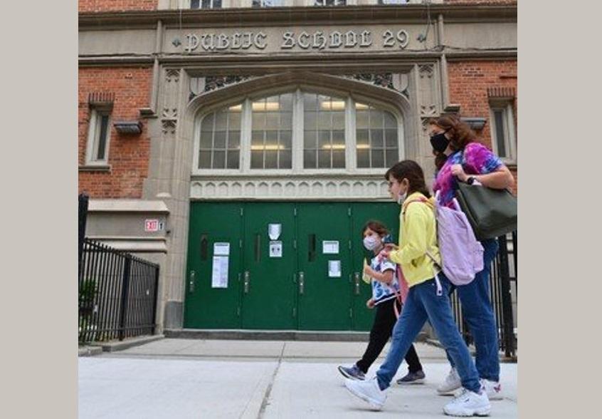 NUEVA YORK REANUDARÁ CLASES PRESENCIALES EN SECUNDARIAS PÚBLICAS